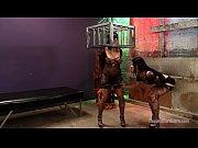 Katina Jade dominates big tit Eva Angelina