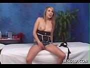 Sexy babe worships big dick