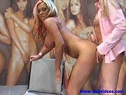 Blonde lesbian pussy sucking