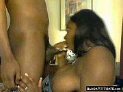 ebony bbw giving a great blowjob