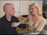 hubby watches wife fuck young stud
