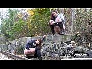 Cutie teens pissing on stairways and walls