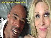 Blonde Sucking Her First Black Cock