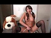 Shayla washes her shaved tight pussy -@ WWW.Erickdarkebadass.com