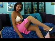 MILF Vanessa Videl in Tan Stockings