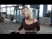 Секс с телкой в чулках блондинка