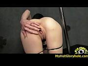 Порноролик решила попробовать в попу