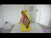 Sexy pokemon Nicole Love VR pussy masturbation