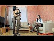 pantyhose girls free lesbian porn video.