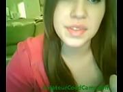 webcam girl bounces ass