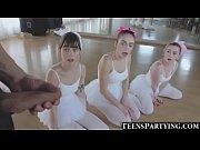 3 Teeny Ballerinas Share Huge Facial!