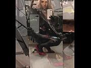 leather doll femdom