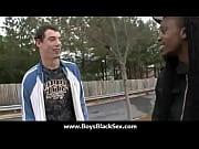 Black sexy gay boys bang white studs 04 Thumbnail