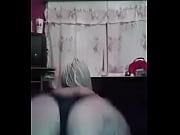 hermosa rubia de 18 a&ntilde_os bailando en ropa interior - Teen 18 years old
