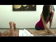 asian masseuse seduces her massage client