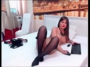 model masturbates webcam