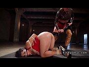 busty wrestler lezdom anal fucked