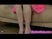 sexy amateur mature mom feeding her pussy - nipplescam.com