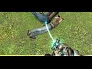 Anal dildo strapon fickmaschine im einsatz