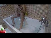 masturbation in the bathtub with a.