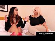 Curvy Babes Nina Kayy &amp_ Missy Martinez StrapOn Fuck Pussies!