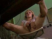 under desk view of her masturbation ( slow.