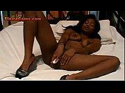 petite ebony girl ivy cums hard