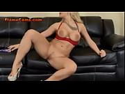 blonde big tit pornstar masturbates live