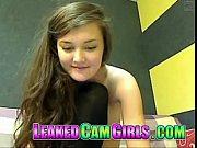 cute cam girl satisfy herself teen