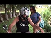 hot tranny fucked on a motorcycle