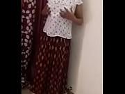 indian desi girl change her dress