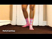 Fat Ass Twerking In Lace Panties And Pink Socks