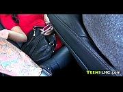азиатка получает оргазм от секс машины