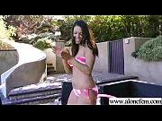 Naughty Freak Girl (nadia noel) Put In Her Pussy Sex Things mov-24