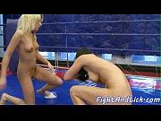 Занялись сексом на ринге геи