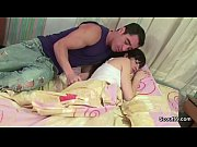 bro wake up petite step-sister and seduce to.