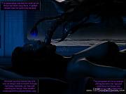 alien creature invades gwyneth&#039_s bedroom!