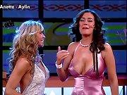 Anette Michel Y Aylin Tetonas Con Escotazo En Tempranito 2006