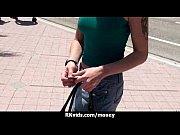 русское порно в летнем кафе