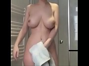 pale busty girls in shower