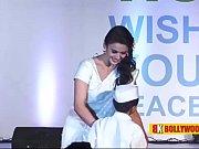 actresses in sensuous saree at global peace initiative.