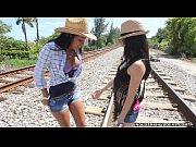 Public Lesbian Teen Sex, Lets Run a Train