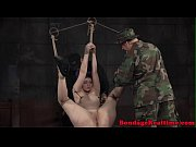 tiedup submissive caned hard and nt.