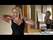 office sex tape with slut worker busty girl vid-10