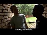Black sexy gay boys bang white studs 02 Thumbnail