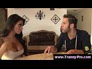Tgirl ladyboy sucking cock