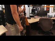 Busty bitch screwed by pervert pawn man