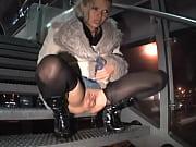 Beautiful Peeing III - Stairs Blonde