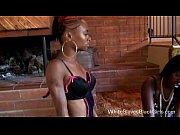 White Guy Eats Femdom Ebony Cunt