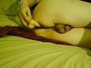 chastity sissy loosens up boypussy